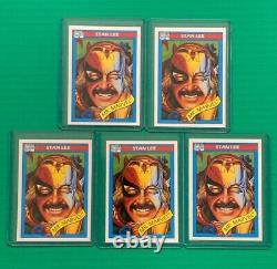 1990 Marvel Universe Trading Card Series 1 Two Complete Sets with All Holograms