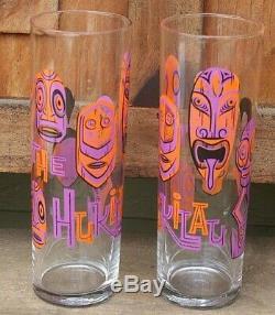 2 Hukilau 2016 Shag Zombie Glass Josh Agle New Rare Tiki Mug Set Of Two