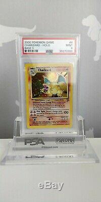 2000 Pokémon Base Set 2 (Two) Charizard Holo PSA 9 Mint Condition Trading Card