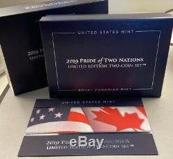 2019 Pride of Two Nations Collectible Coin Set Limited Edition Set