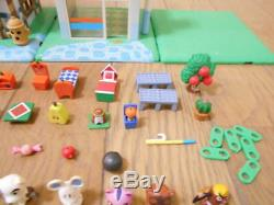 Animal Crossing Figure Set Let's Make a Forest Convenience Store Two-story House