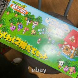 Animal Crossing + Let's create a forest two-story house and figure set used