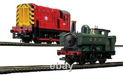 BNIB OO Gauge Hornby R1236 Mixed Freight Digital Train Set Two DCC Locos