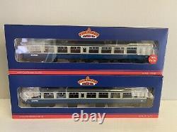 Bachmann 00 Gauge Ltd Ed 39-001u Mk2 Tso Two Coach Set Blue / Grey Scotrail