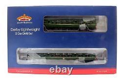 Bachmann'oo' Gauge 32-515a Br Green Derby Lightweight Two Car Dmu Set