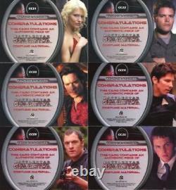 Battlestar Galactica Season Two Costume Card Set 11 Cards