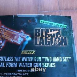 Black Lagoon Sword Cutlass Water Gun Two Hand Set Toy Fullcock