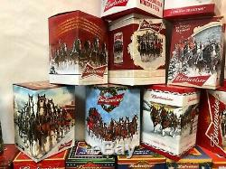 COMPLETE SET of Budweiser Holiday Steins 1980-2018 PLUS Two Lim-Ed Steins