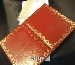 Cartier Bridge Set Two Decks of Playing Cards Cased Pencils/Score Pad