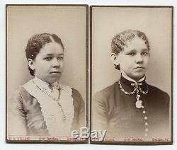 Cdvs African American Women. Scranton, Pa. Set Of Two