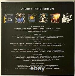 Def Leppard Vinyl Collection Volume One + Two Box-Sets LP Vinyl Record Album 1 2