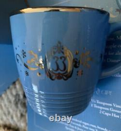 Disney Disneyland Club 33 Tom & Jerry Bowl and Two Cups Recipe Set New + Bonus