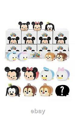 Disney Vinylmation 3 Tsum Tsum Blind Box TWO COMPLETE SETS of 8 withChaser SEALED
