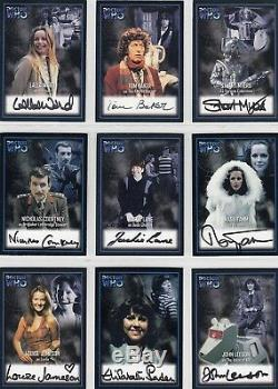 Doctor Who Series Two Complete Set of 13 Auto Cards AU1 AU13