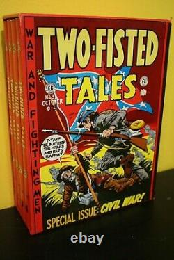 EC Comics The Complete Two-Fisted Tales Hardcover Set 18-41 Vol 1-4 Comic 1980