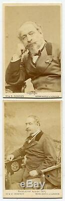 Emperor Napoleon III Of France. CDV Two Set