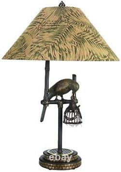 Frederick Cooper parrot lamps Set Of 2 Matching Set TWO set of 2