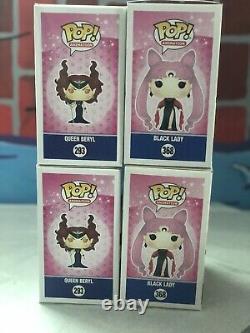 Funko Pop Sailor Moon Black Lady 368 & Queen Beryl 293 Set of two
