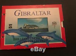 GIBRALTAR 9 COIN COLLECTION 2000 Including Hercules £2 Two Pound Coin Annual Set
