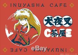 INUYASHA INUYASHA CAFE japan Limited Original Cup & Saucer Set of two DHL PSL