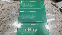 Irish Railway Models (Murphy Models) Set of 3 Two Axel Ballast Wagons Packs 1-3