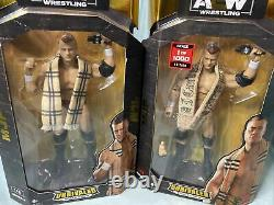 Jazwares Aew Unrivaled Collection Series Two Mjf Common & 1/1000 Chase Set