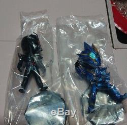 Kamen Rider Zero Two DEFORME X Mini Figure Ichiban Kuji Prize Set of 4 BANDAI