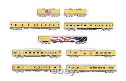 Kato'n' Gauge 106-086 Up Excursion Train 7 Car Set + Two Tenders