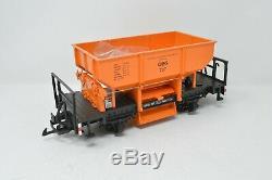 LGB Beatties Exclusive 20524 G Gauge Diesel Train Set Engine and Two Wagons