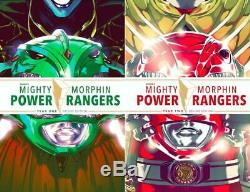 Lcsd 2019 Mighty Morphin Power Rangers Year One & Two Hc Set Eb195