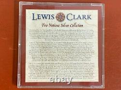 Lewis and Clark Two Nations Silver Collection Set