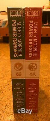MIGHTY MORPHIN POWER RANGERS YEAR ONE & TWO DELUXE LCSD SET 2019 Boom HC NEW