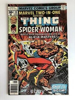 Marvel Two In One 1st Issue & 29 Issue Set of The Things Classic Team Ups