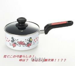 Mickey & Minnie two-handed pan one-handed pan frying pan set IH compatible