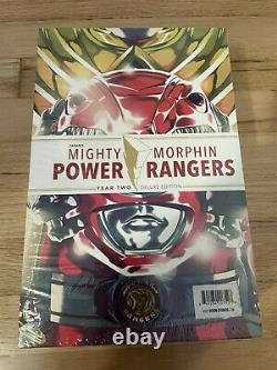 Mighty Morphin Power Rangers Year One & Two Sealed Hc Set 2019 Boom Studios Lcsd