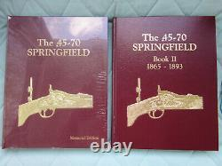 NOS Two Book Set of The 45-70 Springfield Trapdoor by Al Frasca