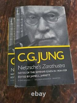 Nietzches Zarathustra Two Volume Set by C G Jung 1988