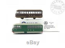 OS. KAR E1000 SET of two railcars EMMINA M C L 1/87 ep. IV