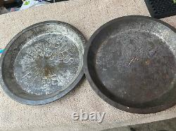 Original Frisbee Frisbie Pie Pans Set Of Two