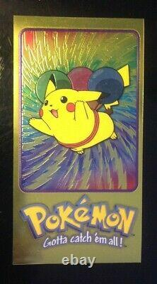 Pokemon Topps Chrome Supersize Series One & Two All 10 Jumbo Cards Complete Set