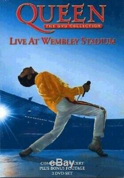 Queen The DVD Collection Live At Wembley Stadium Two Disc Set. DVD 5LVG