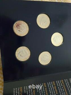 RAF £2 Two Pound Coin Set BUNC In Change Checker Royal Air Force Collecting Pack