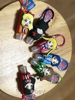 Sailor Moon Handy Sanz Lot Hand Full Case Of 12. Two Sets Of 6