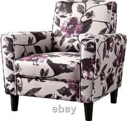 (Set of Two) Lucille floral Armchair by Ebern Designs. $250 per chair (used)