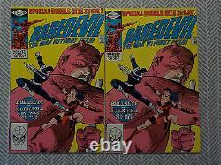 Set of two Daredevil #181 Death of Elektra