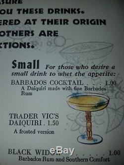 Set of two Morgantown Polynesian Amber Tiki Trader Vic's Kahiki with defect