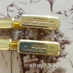 Set of two new very rare Zippo Marlboro Lighters