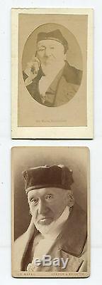 Sir Moses Montefiore Sheriff Of London, Financier. Two Set CDV