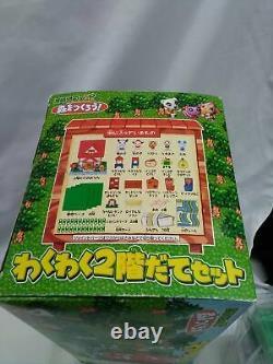 TAKARA Animal Crossing WakuWaku Two story House set From Japan