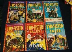 TWO-FISTED TALES COMPLETE SET #1-24 Mint (1992-97, EC Gemstone, Rp) Kurtzman